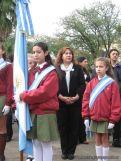 Desfile en Homenaje y Festejo de Cumple 195