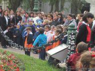 Desfile en Homenaje y Festejo de Cumple 203