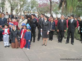 Desfile en Homenaje y Festejo de Cumple 206