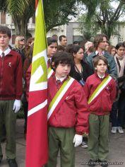 Desfile en Homenaje y Festejo de Cumple 209