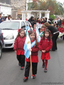 Desfile en Homenaje y Festejo de Cumple 74