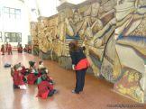 Salas de 3 y 4 visitaron el Mural 4