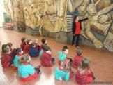 Salas de 3 y 4 visitaron el Mural 7