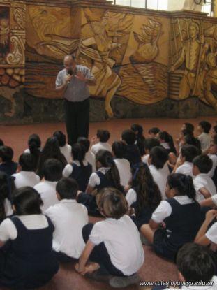 Visita de la Escuela Misericordia 62