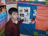 1er grado preparandose para la Expo 8