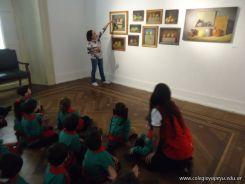 Salas de 3 visitaron la Muestra Karai Octubre 43