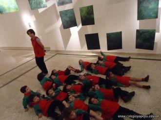 Salas de 3 visitaron la Muestra Karai Octubre 53