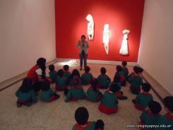 Salas de 3 visitaron la Muestra Karai Octubre 55