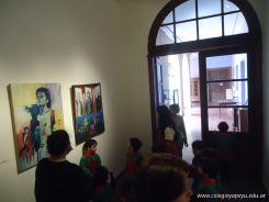 Salas de 3 visitaron la Muestra Karai Octubre 65