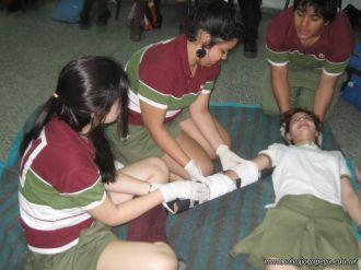 Ultima Clase de Primeros Auxilios 2011 34