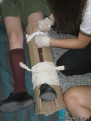 Ultima Clase de Primeros Auxilios 2011 39