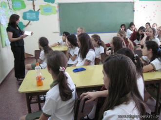 Charla de Educacion Sexual a 6to grado 1