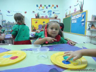 Primer semana de clases en el Jardin 1