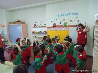 Primer semana de clases en el Jardin 104