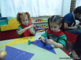 Primer semana de clases en el Jardin 107