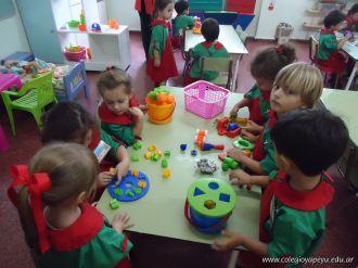 Primer semana de clases en el Jardin 116