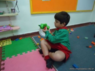 Primer semana de clases en el Jardin 126