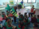 Primer semana de clases en el Jardin 172