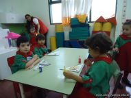 Primer semana de clases en el Jardin 187