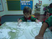 Primer semana de clases en el Jardin 201