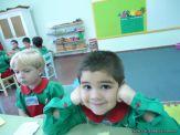 Primer semana de clases en el Jardin 54