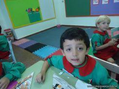 Primer semana de clases en el Jardin 56