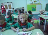 Primer semana de clases en el Jardin 63