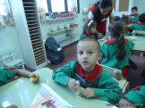 Primer semana de clases en el Jardin 64