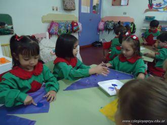 Primer semana de clases en el Jardin 94