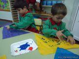 Primer semana de clases en el Jardin 96