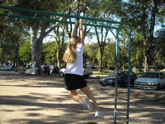 Educacion Fisica en el Parque Mitre 20