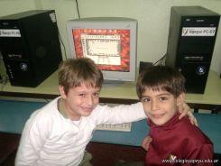 Primer grado en Sala de Computacion 11