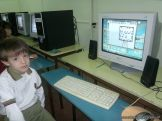 Primer grado en Sala de Computacion 2
