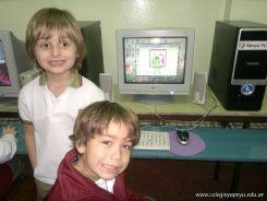 Primer grado en Sala de Computacion 21
