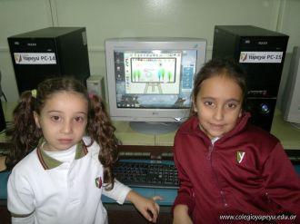 Primer grado en Sala de Computacion 34