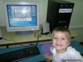 Primer grado en Sala de Computacion 49