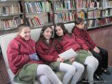 5to grado en Biblioteca 5