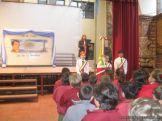 Acto por el Dia de la Bandera en Primaria 2
