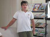 6to grado en Biblioteca 8