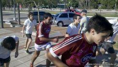 Entrenando para Rugby en la Costanera 20