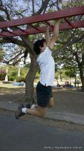 Entrenando para Rugby en la Costanera 39