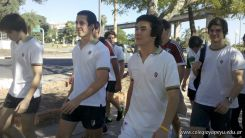 Entrenando para Rugby en la Costanera 9