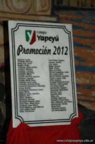 Acto de Colacion de la Promoción 2012 362