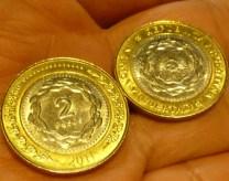 Monedas de 2 pesos
