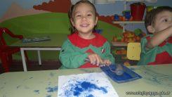 Pintando en Salas de 3 16