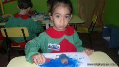 Pintando en Salas de 3 6
