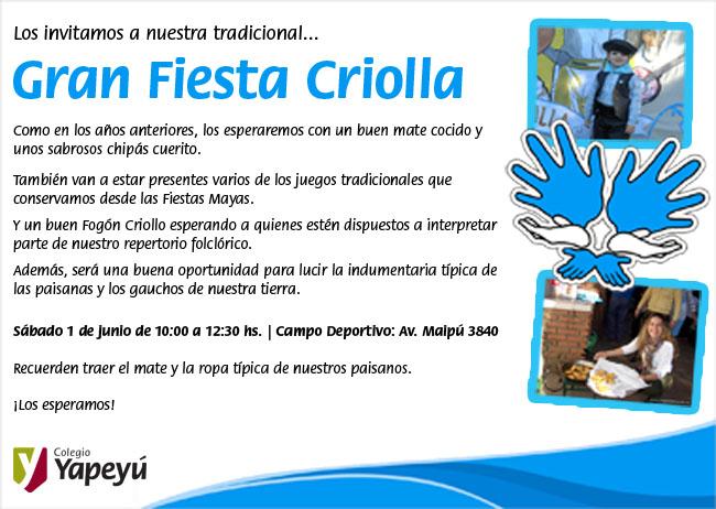 Fiesta Criolla 2013