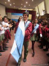 Acto por el Dia de la Bandera de la Secundaria 37