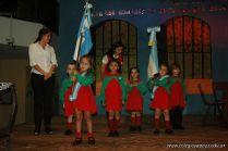 Acto por el Dia de la Independencia del Jardin 62