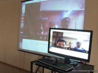 Videoconferencia con India 1